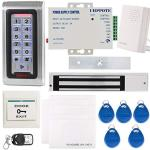 UHPPOTE Rfid Access Control System Keypad Id Card & 280KG Magnetic Lock Mag-lock With Ul Listed