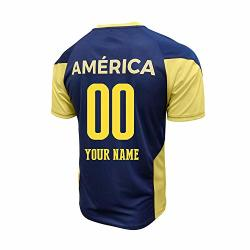Club America Soccer Jersey Mexico Fmf Adult Training Custom Name And Number Navy Ca S