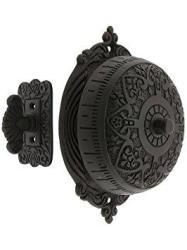 House Of Antique Hardware R-06SE-0900009 Heart Design Mechanical Door Bell In Oil Rubbed Bronze