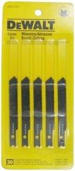 DEWALT Jigsaw Blades Masonry Board Cutting U-shank 3-INCH DW37185