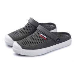 Men Casual Breathable Lightweight Hollow Out Soft Slippers