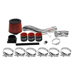 DC Sports CAI4202 Nissan Centra Se-r Spec-v Polished Cold Air Intake System With Filter And Installation Hardware