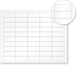 """MyAssetTag Sheets Of Sheets Of Econoguard Vinyl With Heavy Adhesive 500 Labels Pack 8.5"""" X 11"""