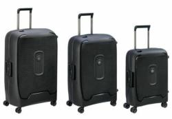 Delsey Moncey 3 Piece Luggage Set Anthracite