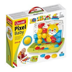 Quercetti Pixel Baby Art Activity Toy Multi