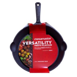 MegaMaster - 260 Round Cast Iron Cookware Pan