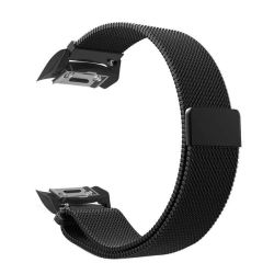 Milanese Band For Samsung Gear S2 SM-R720 SM-R730 Size: M l - Black