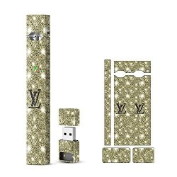 Shiodoki Coltd Shiodoki 2 Pack Original Gucci Lv Supreme Drogan Dog Style Juul Skin Decal For Pax Juul Protective Sticker For Juul Wraps Wrap Only