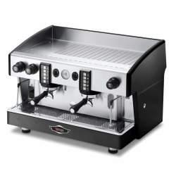 Wega Atlas Commercial Espresso Machine - 2 Group Epu Semi-automatic Black