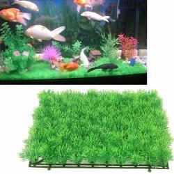 Yuktha Eternals Artificial Grass For Aquarium -2PCS G1