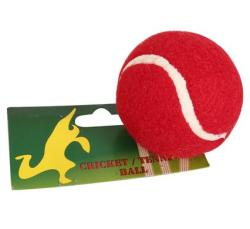 Bulk Pack 15 X Tennis Ball Cricket In Pocket - Red