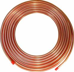 "Ics Industries - 5 8"" Od Copper Refrigeration Acr Tubing 50 Ft"