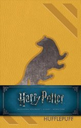 Harry Potter: Hufflepuff Hardcover Ruled Journal Notebook Blank Book