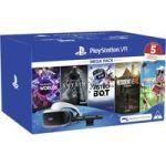 Sony Playstation VR Headset And Camera Bundle - With VR Worlds The Elder Scrolls V: Skyrim Astrobot Resident Evil Vii And Everyb