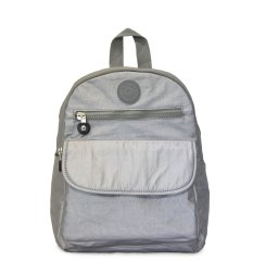 Calasca Side Kick Devon Backpack - Silver Free Shipping