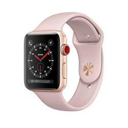 Apple Series 3 Smart Watch 38mm Gold Aluminum & Pink