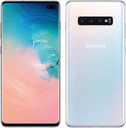 Samsung Galaxy S10 Plus 128GB Hybrid Dual Sim in Prism White