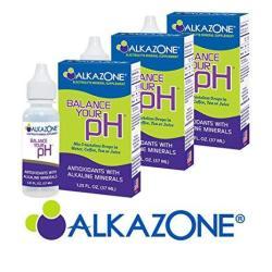 Alkazone - Alkaline Ph Booster Drops 1.25 Fl Oz 3-PACK