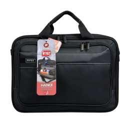 """Port Designs Port Hanoi Clamshell Laptop Bag 13.3"""" - Black"""