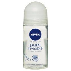 Nivea - Ladies Anti-perspirant Roll-on Pure Invisible 50ML