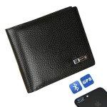 Modoker Smart Wallet Men Cowhide Leather Bifold Wallet Best Gift For Men Black