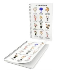 Gin Tribe - Little Miss Gin - Notepad - Gift Tribe