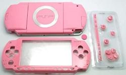 Gametown New Replacement Sony Psp 1000 Full Housing Shell Cover With Button Set -pink.