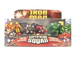 Iron Man Superhero Squad Battle Pack Heroes & Villains Action Figure Multi-pack