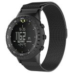 """QGHXO Metal Band For Suunto Core Milanese Loop Metal Watch Band With Unique Magnet Lock For Suunto Core Smart Watch Fits 5.8""""-9."""