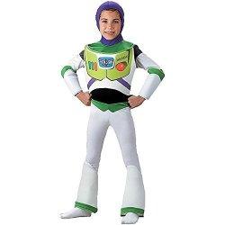 Morris Costumes Deluxe Buzz Lightyear Child Costume - Medium