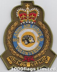 1000 Flags 658SQUADRON Aac Army Air Corps Volunteers British Army Embroidered Patch