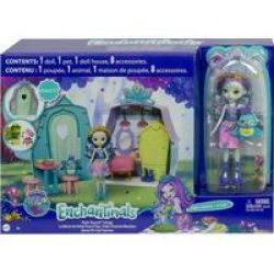 Patter Peacock Cottage Playset With Patter Peacock & Flap