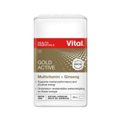 Vital Gold A-z Plus Caps 30'S