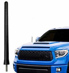 AntennaMastsRus - The Original 6 3 4 Inch Is Compatible With Toyota Tundra 2000-2020 - Car Wash Proof Short Rubber Antenna - Int
