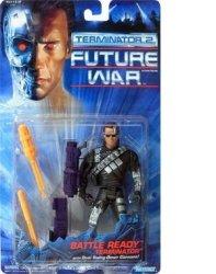 Kenner Terminator 2 Future War Battle Ready Terminator W Dual Swing-down Cannons
