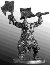 Barbarian Tin Toy Soldiers Metal Sculpture Miniature Figure Collection 40MM F-05
