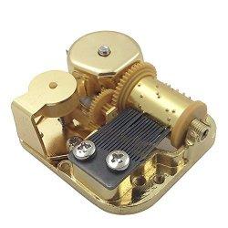 Helen Zora 18 Note Windup Gold Plating Clockwork Mechanism Diy Music Box Movement Elfen Lied