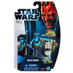 Hasbro Toys Star Wars Clone Wars Animated 2012 Figure Aayla Secura 14