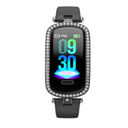 Bakeey I9 IP67 Waterproof Female Wristband Heart Rate Blood Pressure Monitor Women