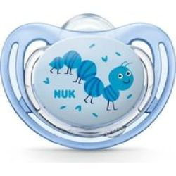 Nuk Freestyle Silicone Soother Size 3 Caterpillar
