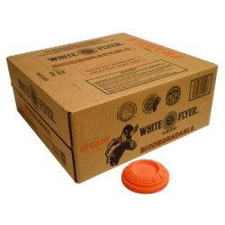 Case Flyer Of White Biodegradable Targets