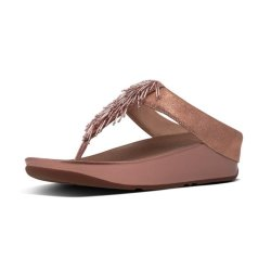 fc242ce007c336 Fitflop Ladies Cha Cha Sandals - Rose Gold