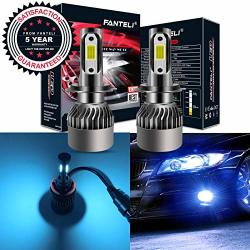 2X H4 9003 72W 9000LM LED Headlight Bulbs Conversion Kit HB2 COB 6500K Fog Light