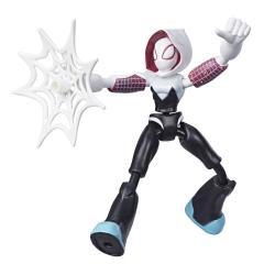 Marvel Spider-man Bend And Flexghost-spider Action Figure