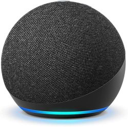Echo Dot 4TH Gen Smart Speaker With Alexa Charcoal Special Today Only