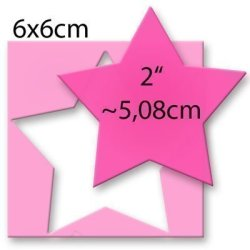 Efco Motif Punch XL Star 5.0 Cm Pack Of 1