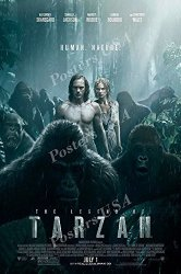 "Posters USA - The Legend Of Tarzan Movie Poster Glossy Finish - MOV609 16"" X 24"" 41CM X 61CM"