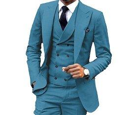 Suits For Wedding.Jy Men S Fashion 3 Pieces Men Suits Wedding Suits For Men Groom Tuxedos R Suits Pricecheck Sa