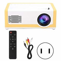 Xinwoer Home Projector MINI Portable Projector Built-in High-fidelity Speakers Household Media Player With High-fidelity Speakers 1