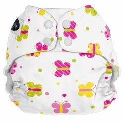 Imagine Baby Products Pocket Snap Diaper Flutter